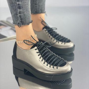 Pantofi Dama Casual Caelia Gri