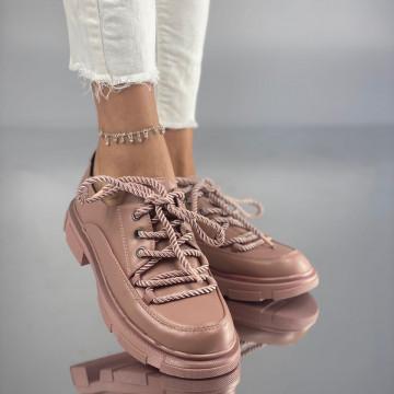 Pantofi Dama Casual Crevis Roz