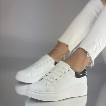 Pantofi Sport Hasha Alb Negru
