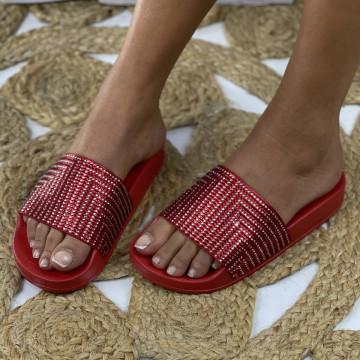 Papuci Sera Rosii