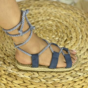 Sandale Kiros Albastre