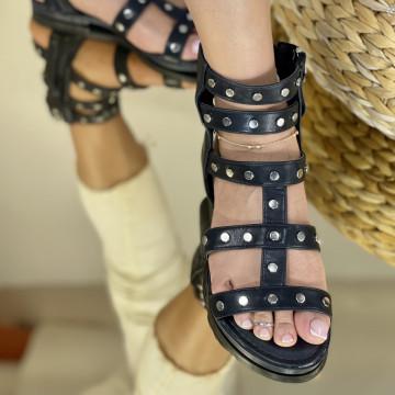 Sandale Parela Negre