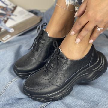 Pantofi Casual Mekona Negri
