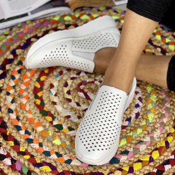 Pantofi Casual Rima Albi