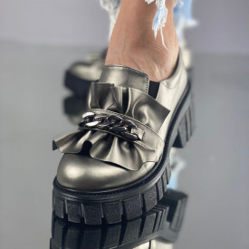 Pantofi Dama Casual Catania Gri