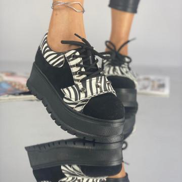 Pantofi Dama Casual Coreca Negri Cez