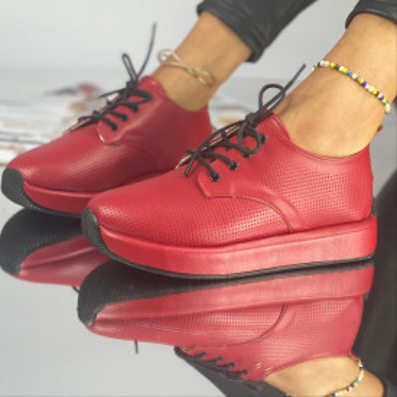 Pantofi Dama Casual Perota Rosii