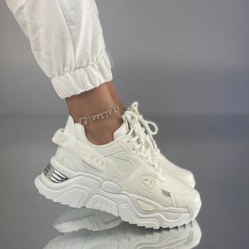 Pantofi Sport Coda Albi