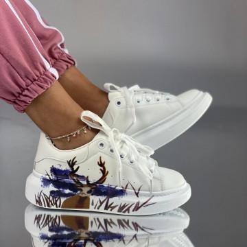 Pantofi Sport Dama Delfi Albi