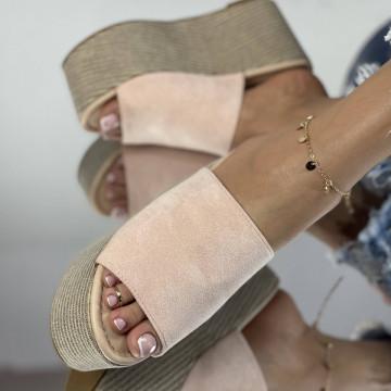 Papuci Crendo Roz