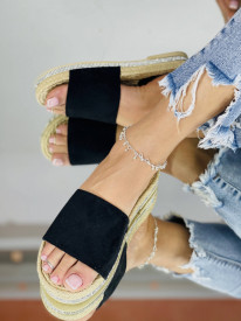Papuci emerald Negri