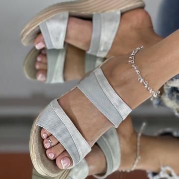 Papuci Maras Albe