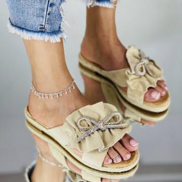 Papuci Pami Bej