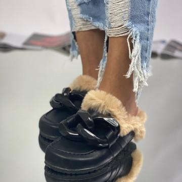 Papuci Parida Negri