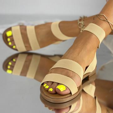 Sandale Fara Toc Korea Bej