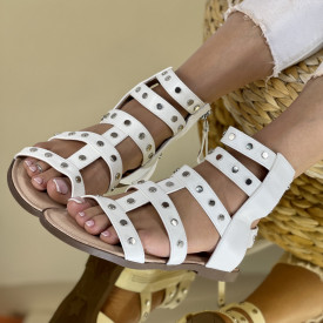 Sandale Parela Albe