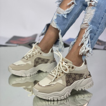 Sneakersi Dama Mader Bej