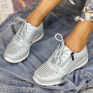 Pantofi Casual Amira Albastrii