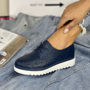 Pantofi Casual Anisia Bleumarin