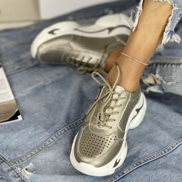 Pantofi Casual Belancia Aurii