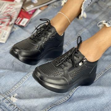 Pantofi Casual Sedra Negri