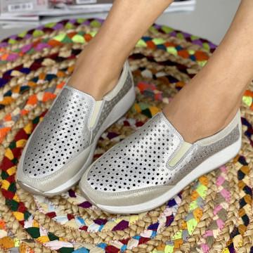 Pantofi Casual Zori Aurii
