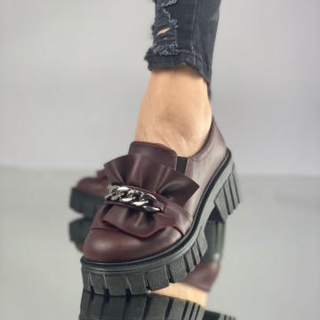 Pantofi Dama Casual Catania Grena