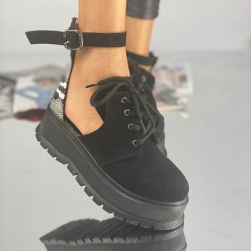 Pantofi Dama Casual Dolma Pinta Negri Ylan