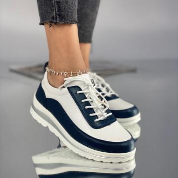 Pantofi Dama Casual Pirota Albi