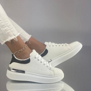 Pantofi Sport Sinfi Alb-Negru