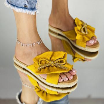 Papuci Pami Galbeni