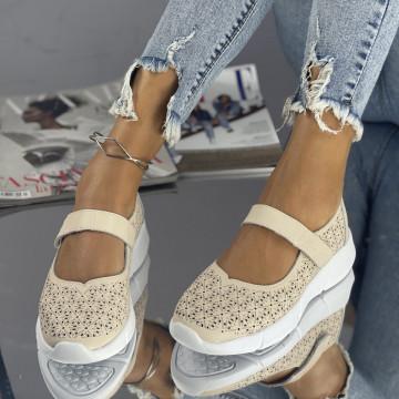 Sandale Posira Bej