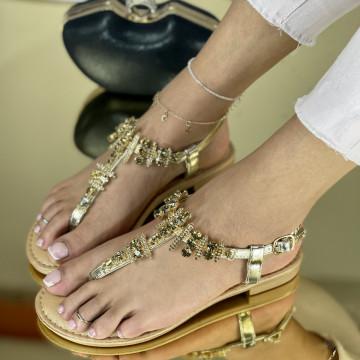 Sandale Sedat Aurii