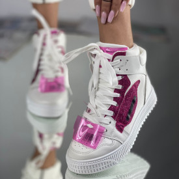 Sneakersi Dama Natalia Fuchsia