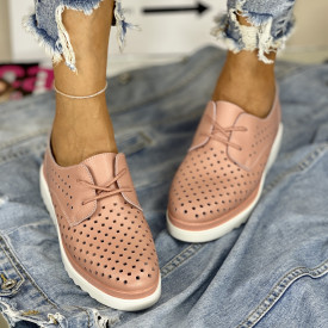 Pantofi Casual Anisia Roz