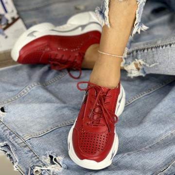 Pantofi Casual Belancia Rosii