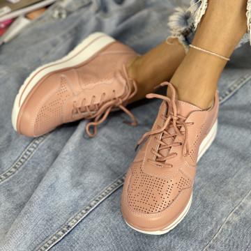 Pantofi Casual Menora Roz