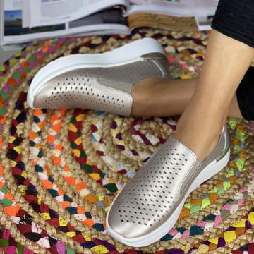 Pantofi Casual Rima Aurii