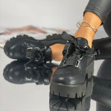 Pantofi Dama Casual Kola Bleumarin