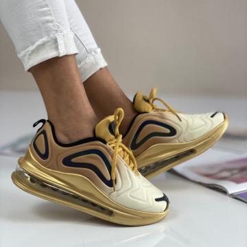Pantofi Sport Camara Aurii