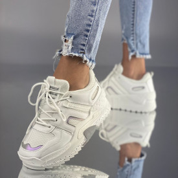 Pantofi Sport Meclara Albi
