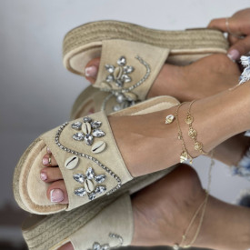 Papuci Sidera Bej
