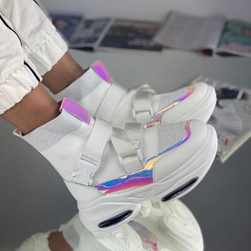 Sneakersi Dama Pora Albi