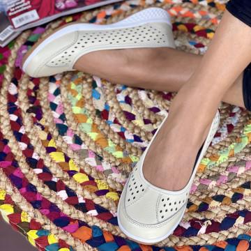 Pantofi Casual Faustina Bej