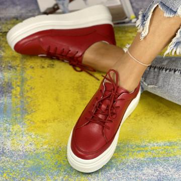 Pantofi Casual Misa Rosii