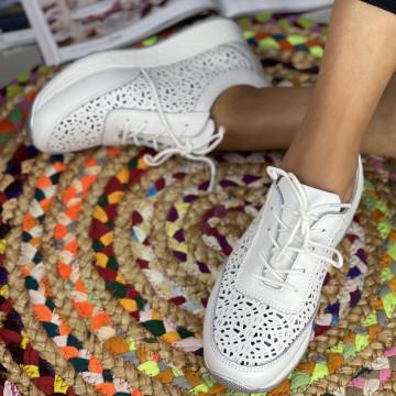 Pantofi Casual Samia Albi