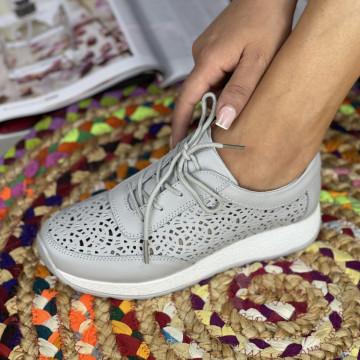 Pantofi Casual Samia Gri