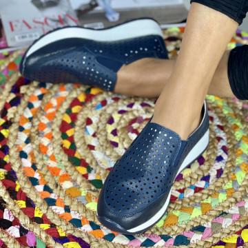 Pantofi Casual Zori Bleumarin