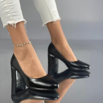 Pantofi cu Toc Soria Negri