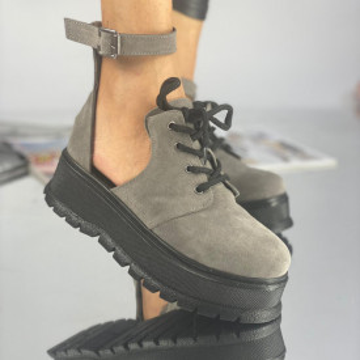 Pantofi Dama Casual Dolma Pinta Gri